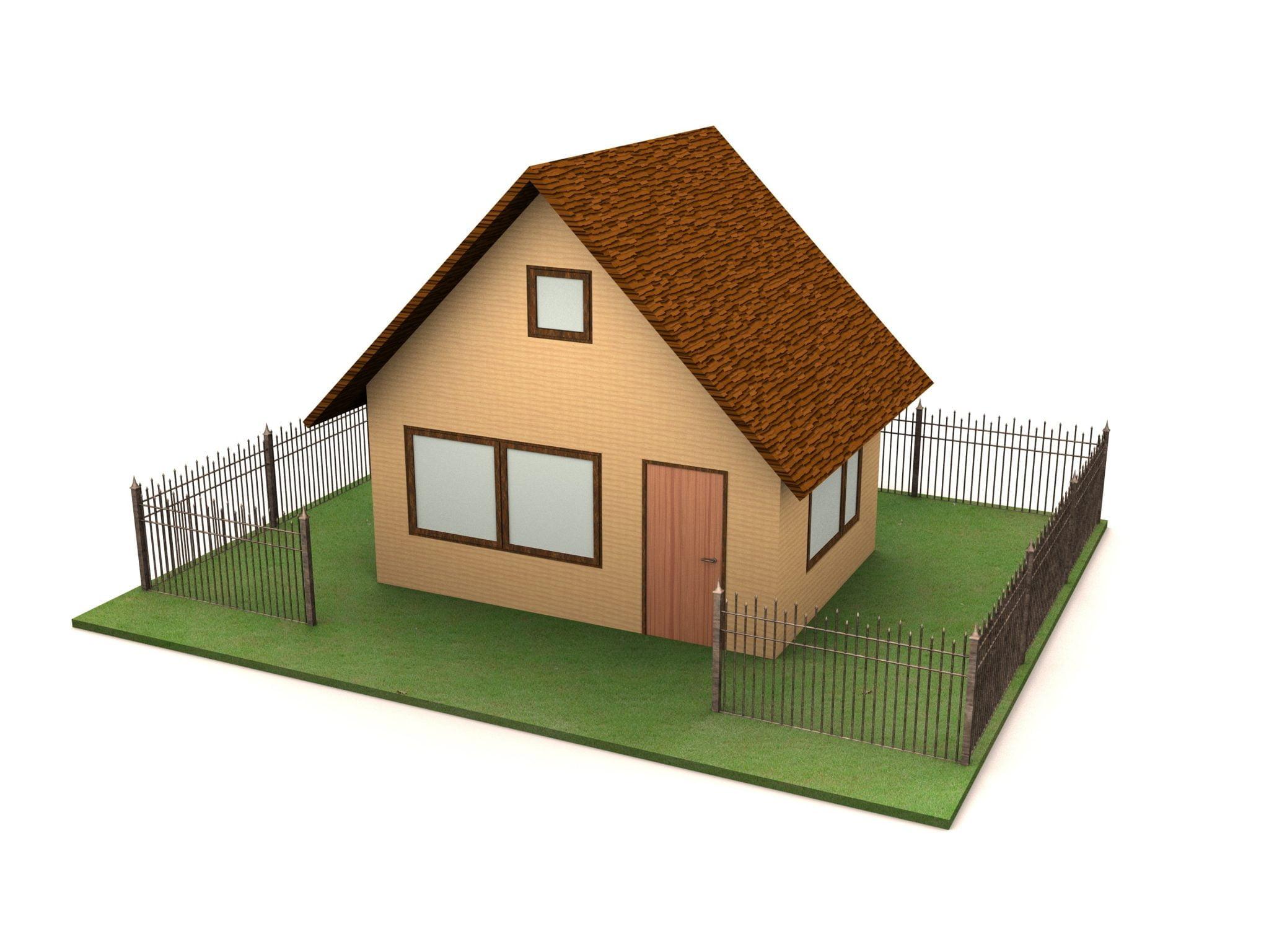 Bouwplaat huis 6 10 jaar bijbels for Simple home model