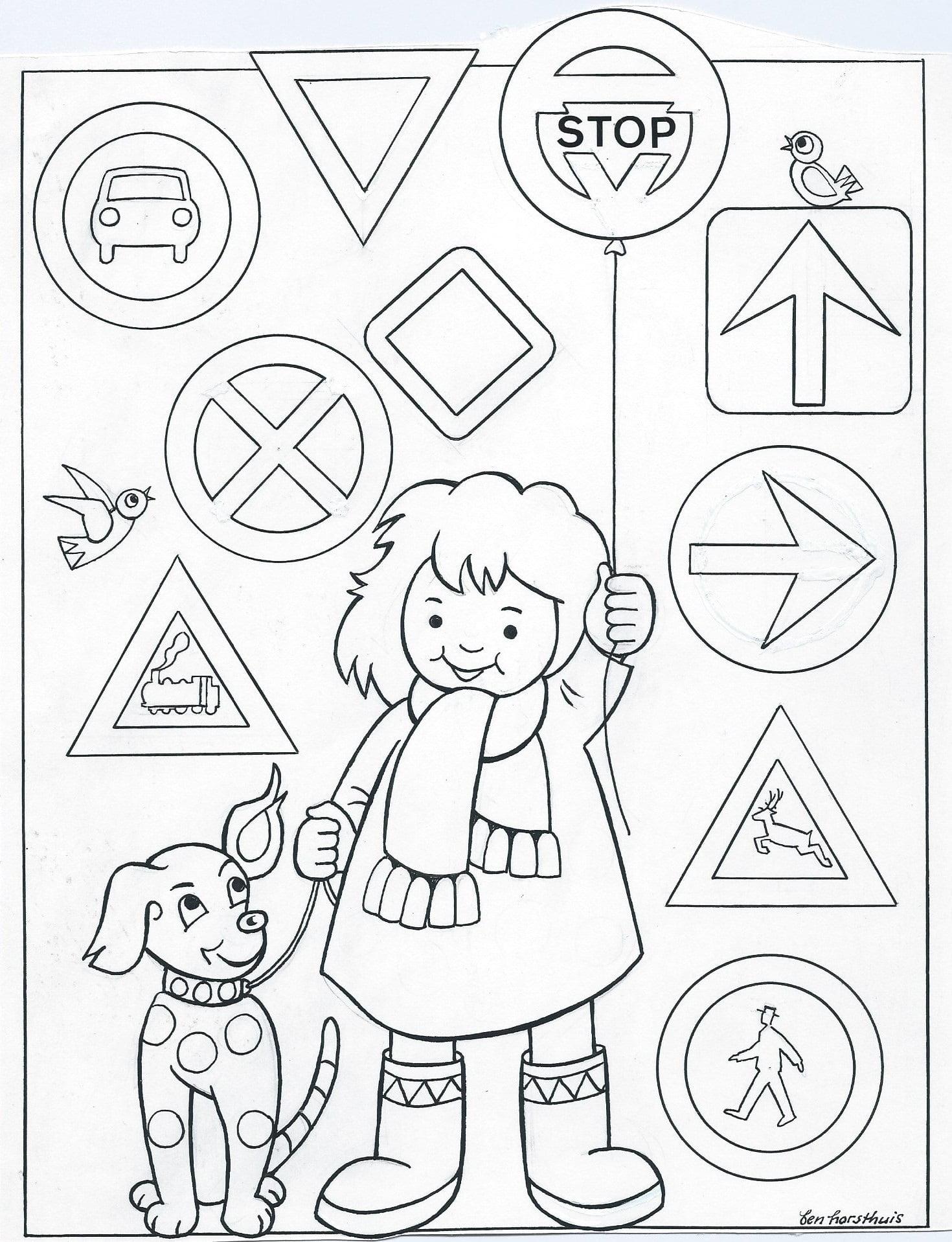 Voorkeur Kleurplaat Tien Geboden (3-8 jaar) – Bijbels Opvoeden.nl AA88