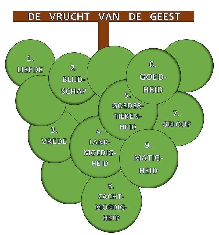 kleurplaat vrucht van de geest (3-10 jaar) – bijbels opvoeden.nl