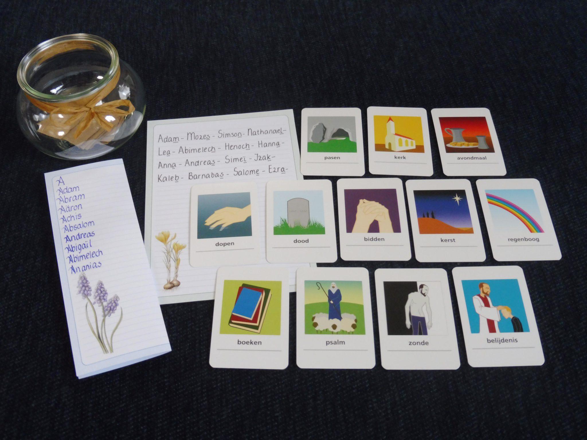 Nieuw Tip Bijbelse spellen maken – Bijbels Opvoeden.nl QZ-26